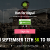 Runator; Running for Nepal